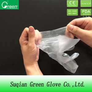 Marketable Product Plastic Polythene Glove pictures & photos