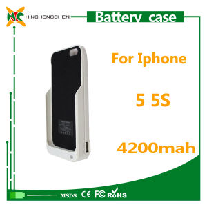 Hot Selling Mobile Phone Power Bank for iPhone 5/5s Charger Case pictures & photos
