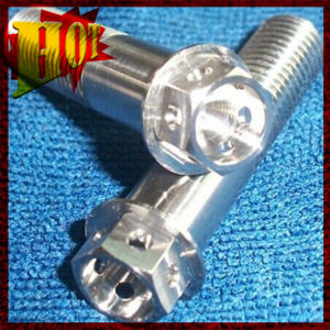 M10X1.25X25mm Gr-5 Titanium Hex Bolts for Sale pictures & photos