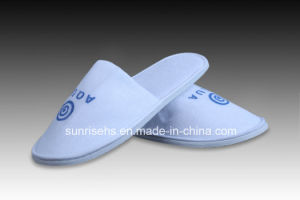 Hotel Disposable Slipper with Customized Logo pictures & photos