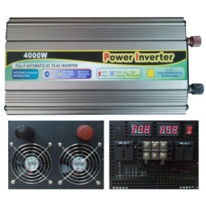 DC-AC 4000W Modified Sine Wave Power Inverter DC 24V to AC 220V, Frequency Inverters pictures & photos