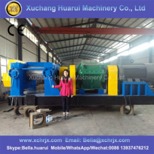 Tire Shredder/Rubber Crusher for Granule/ Tires Waste Tyre Recycling Plant pictures & photos