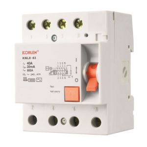 Residual Current Circuit Breaker (KNL8-63) pictures & photos
