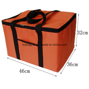 Insulated Zipper Disposable Insulated Cooler Lunch Bag pictures & photos