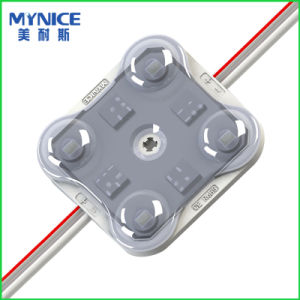 2835 Injection LED Module with Optical Lens for Double-Sided LED Light Box and Channel Letters. pictures & photos