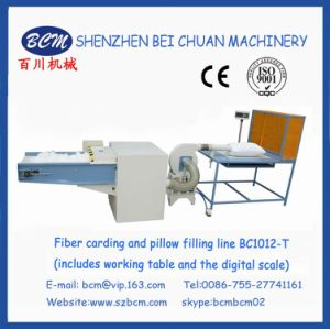 Fiber Carding & Pillow Filling Line BC1012-T pictures & photos