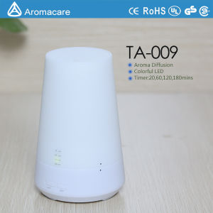 Aromacare Colorful LED 100ml Warm Mist Humidifier (TA-009) pictures & photos