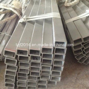 A312 TP304 Seamless Stainless Steel Square and Rectangular Tube pictures & photos