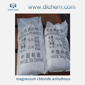 White Powder/Flake/Block Magnesium Chloride Anhydrous (MgCl2) pictures & photos