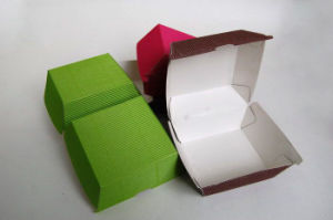 Colorful Printed Paper Packing Box for Fast Food pictures & photos