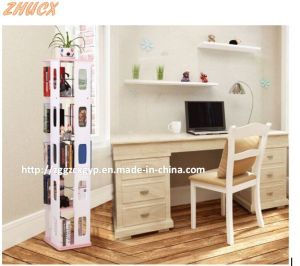 2016 New Stylish Home Furniture Wooden Bookshelf Cx-BS016 pictures & photos
