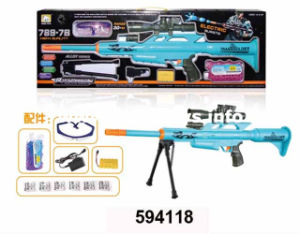 Hot Sale B/O Plastic Toys Gun with Water Bullet (594118) pictures & photos