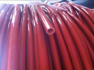 Silicone Rubber Fiberglass Coated Sleeving pictures & photos