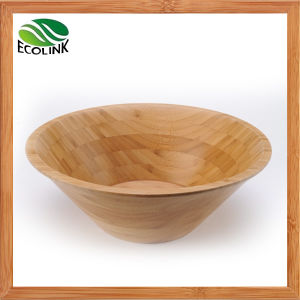 Bamboo Salad Bowl Fruit Bowl pictures & photos