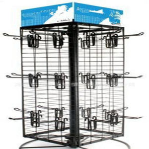 Spinning Metal Wire Jewellery Counter Display Stand pictures & photos
