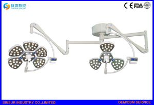 Cost Hospital Shadowless LED Ceiling Double Head Operating Room Light pictures & photos