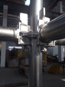 Galvanized Ringlock Scaffolding for Export pictures & photos