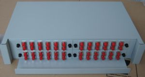 The 2u Pull-out Type ODF for 48 Ports pictures & photos