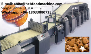 Soft and Hard Biscuit Production Line Biscuit Making Machine pictures & photos