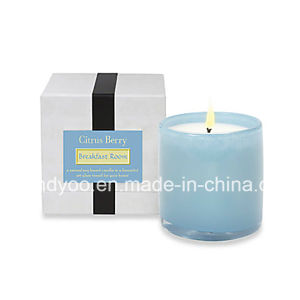 Romantic Scented Soy Glass Jar Candle