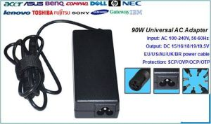 90W Universal Laptop DC Power Adapter and Charger