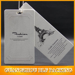 Clothes Labels Paper Custom Swing Hang Tags (BLF-T112) pictures & photos