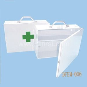Empty First Aid Box for Emergency Medical Use / Metal Box (DFEM-006) pictures & photos