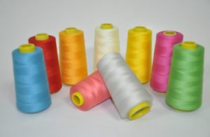 100% Polyester Sewing Thread Available in Colors pictures & photos