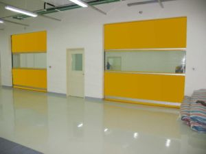 Noiseless Magnetic PVC High Speed Rolling up Door pictures & photos