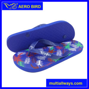 Colorful Simple PE Slipper Sandal Shoes for Girl (T1501) pictures & photos