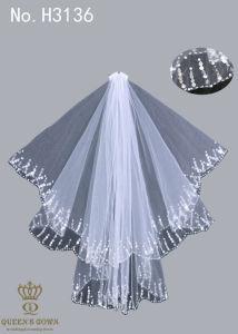 The New Hand-Beaded Bride Wedding Dress Veil