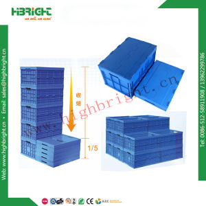 Plastic Collapsible Box Logistic Plastic Storage Bin pictures & photos