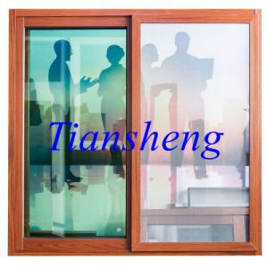 Residential Sliding Aluminium Window with Built-in Grid pictures & photos