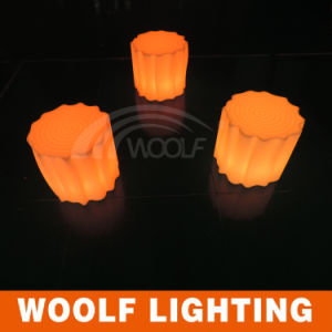Decorative LED Tree Stool / Glow Mini Bar Chair pictures & photos
