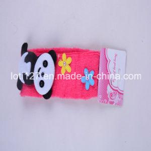 Pink Hair Ribbon, Panda Adornment Modelling, Children Hair Ribbon, Fashion Hair Accessories, Hair Band
