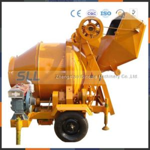 Jzc-Series Mobile Diesel Concrete Portable Cement Mixing Plant/Stationary Mixing pictures & photos