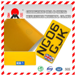 Retro-Reflective Sheeting for License Plate (TM8200) pictures & photos