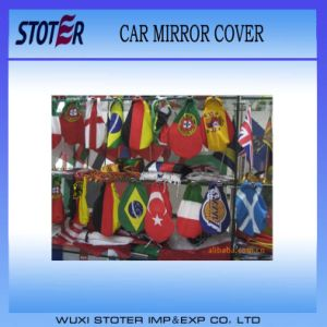 Different Country Car Wing Mirror Cover Flag, Car Mirror Flag pictures & photos