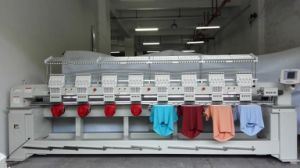 8 Head Cap Embroidery Machine for 3D Embroidery Wy908c pictures & photos