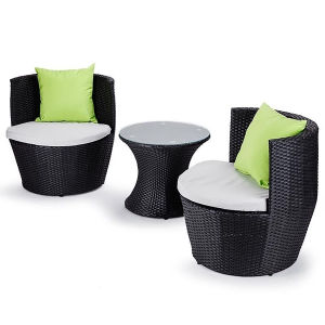 3 Pieces Outdoor Garden Rattan Setting pictures & photos