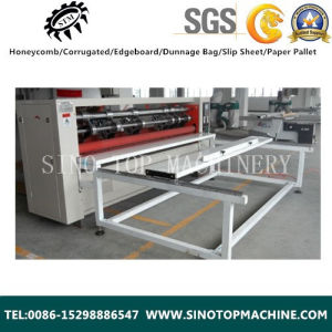 Honeycomb Cardboard Slitting Line Machine for Small Pieces pictures & photos