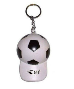 OEM Design Fashion Football Keychains pictures & photos