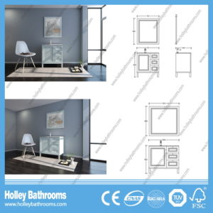 American Style Hot Selling Classic Solid Wood Bathroom Vanity (BV218W) pictures & photos