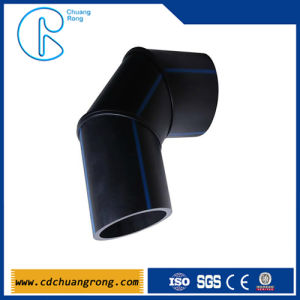 PE Fabricated Plastic Weld Fitting (45 Degree bend) pictures & photos