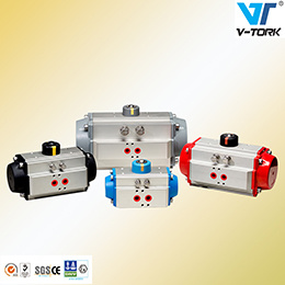 Spring Return Pneumatic Control Valve Actuator pictures & photos