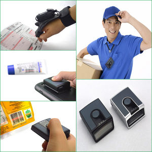 Mobile Bluetooth Barcode Reader/ Scanner 1d Ms3391-C pictures & photos