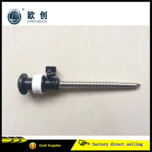 China Manufacture Euprun Reusable Screw Cannular Trocar pictures & photos