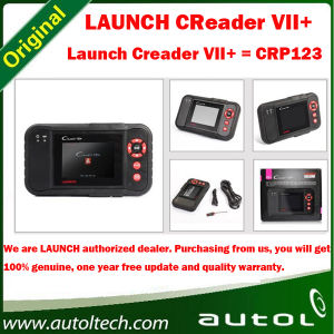 Original Obdii Eobd Launch X431 Creader VII+ Crp123 Multi-Language Launch X431 Diagnostic VII+ Code Reader 2013 Hot Sale pictures & photos