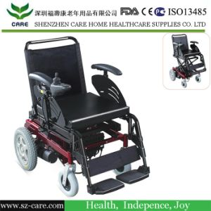 Rehabilitation Medical Equipment Folding Handicapped Electric Wheelchair pictures & photos