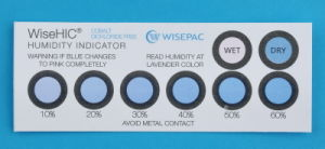 10%-60% Cobalt Free (HIC) Humidity Indicator Card (WiseHIC) pictures & photos